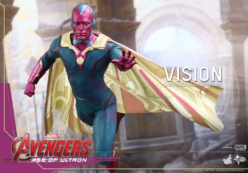 Hot Toys Avengers Age of Ultron Vision 01