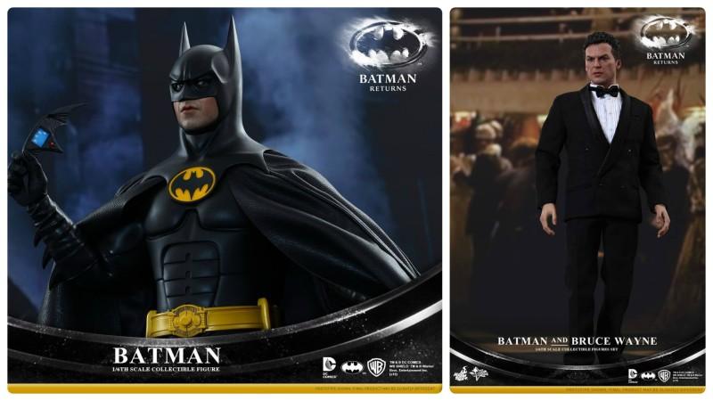 Hot Toys Batman Returns Batman and Bruce Wayne