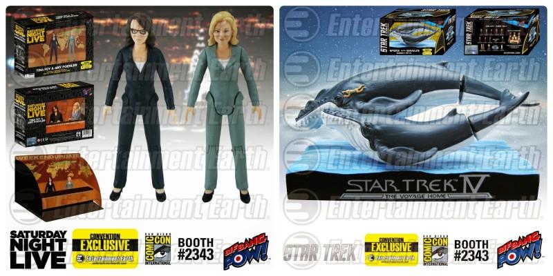 SDCC 2015 Bif Bang Pow Tina Fey Amy Poehler Star Trek IV