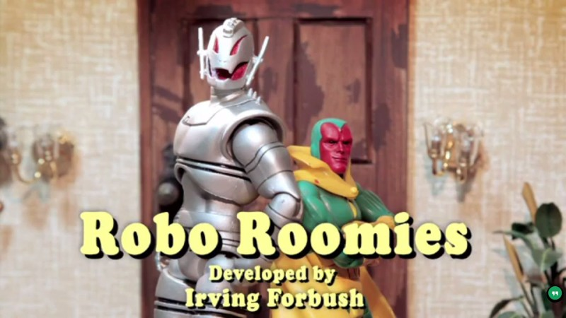 Ultron & Vision Robo Roomies – Marvel Super Heroes What The--! Ep 41