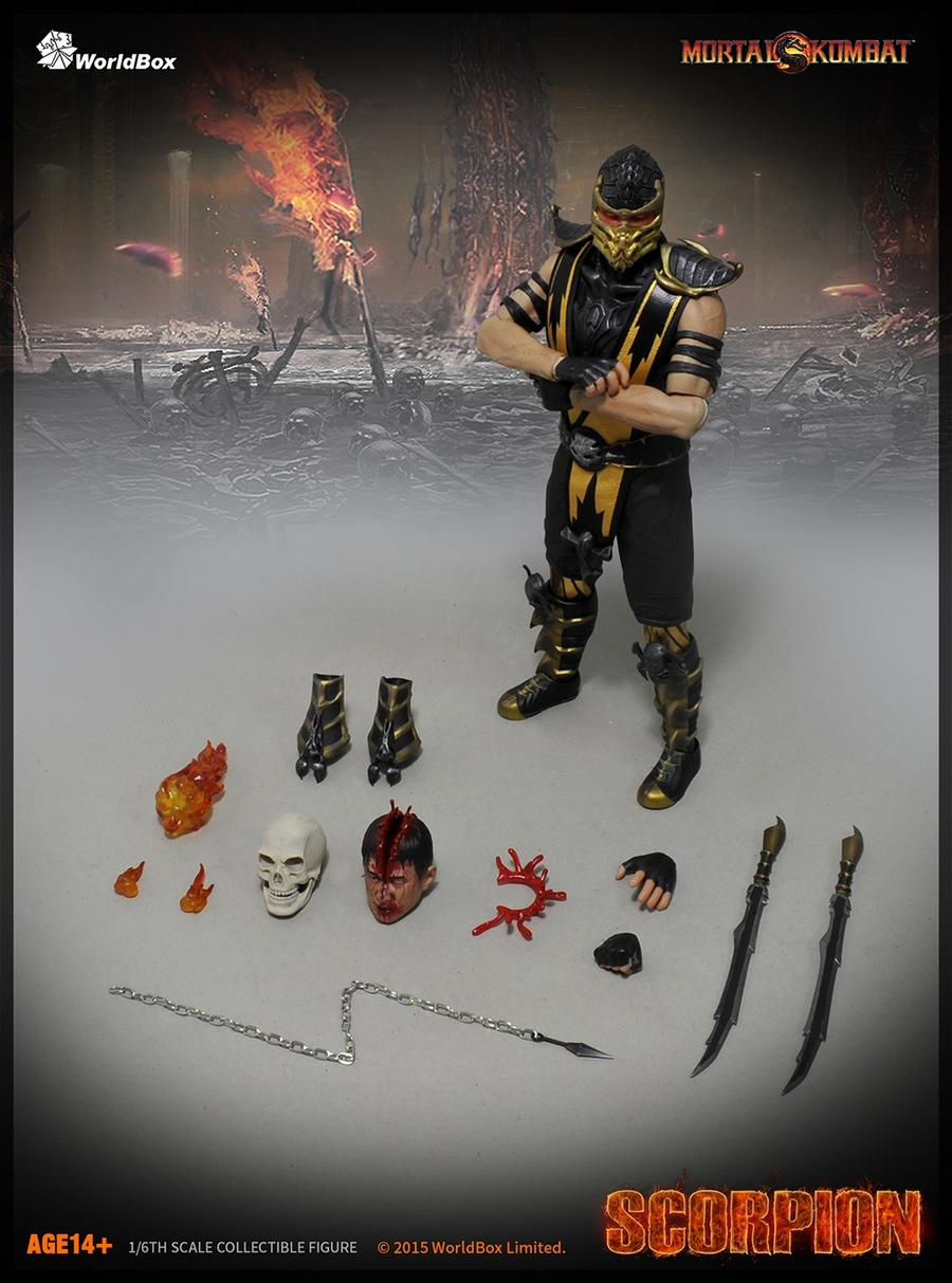 Get Over Here Worldbox Reveals Mortal Kombat Scorpion