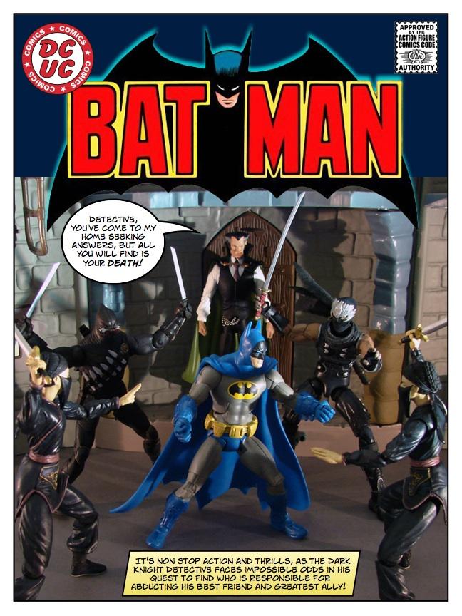Batman - Taken - page 01