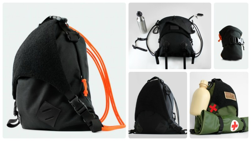 Drawstring Backpack by Mochibags