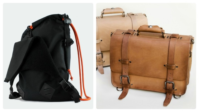 Kickstarter Mochibags and Kendal and Hyde Satchel
