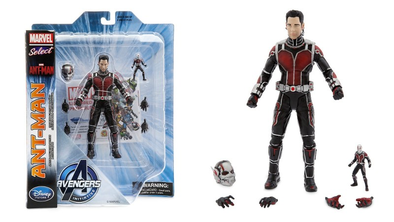 Marvel Select Ant-Man unmasked exclusive