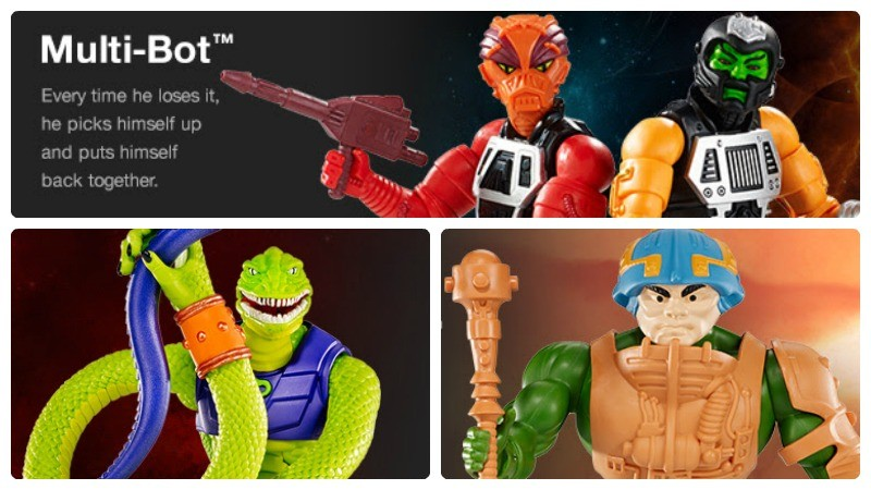 Matycollector June sale - Multi-Bot, Sssqueeze, Man-at-Arms