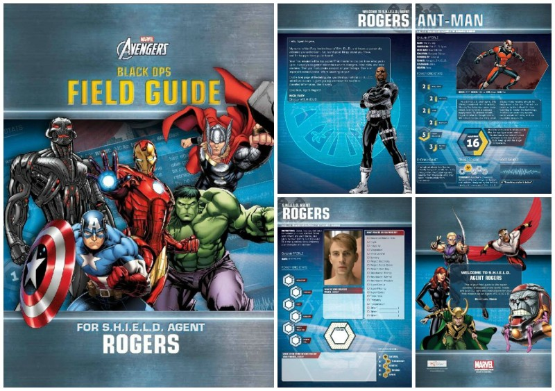 Put Me In The Story - Avengers Black Ops Field Guide