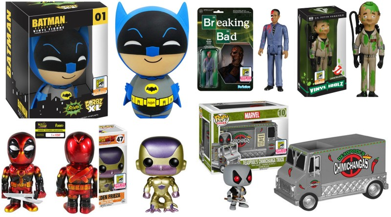 SDCC 2015 Funko Exclusives Reveals Week 1 of 3