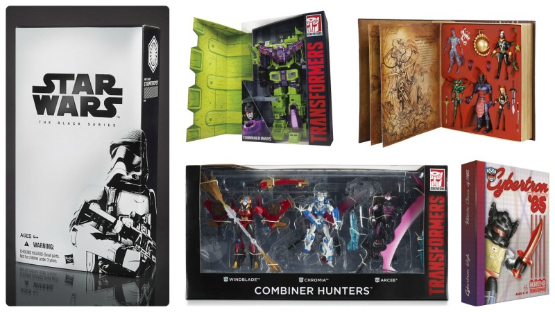 SDCC 2015 Hasbro Exclusive Special Edition Toys