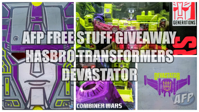 AFP Free Stuff Giveaway - Hasbro Transformers Combiner Wars Devastator