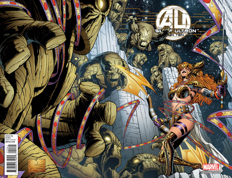 Age of Ultron #10 (Quesada variant) - Angela