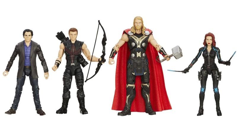 Amazon Exclusive Marvel Legends Avengers 4-Pack - loose