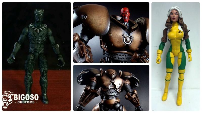 Border Patrol - Marvel Legends Black Panther, Red King, and Rogue