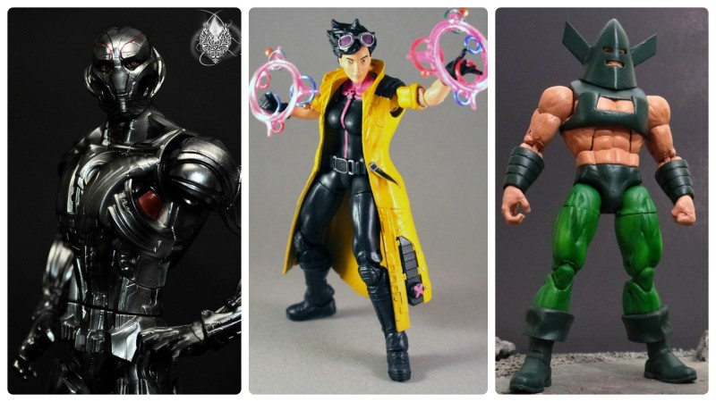 Border Patrol - Marvel Legends Ultron, Jubilee, and Whirlwind