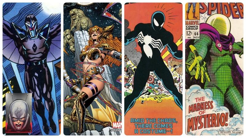 Hasbro Marvel Legends Fans Choice Vote - Darkhawk, Angela, Symbiote Spider-Man, and Mysterio