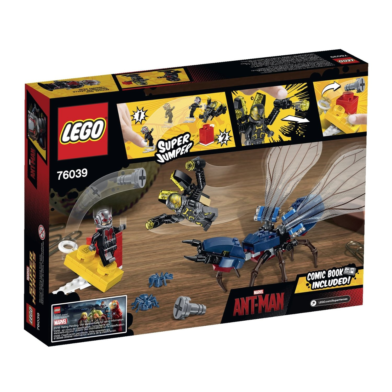 LEGO Ant-Man Poster and Final Battle Set ...