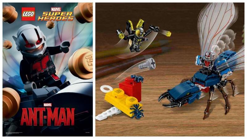 LEGO Ant-Man poster and Final Battle set