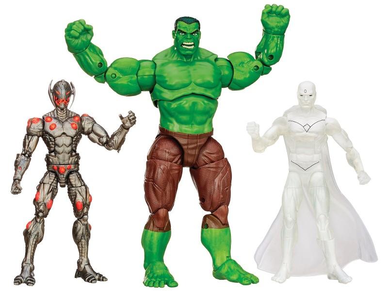 Marvel Avengers Target Exclusive Legends 3-Pack Hulk Ultron and Marvel's Vision
