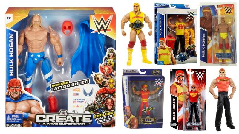 Mattel WWE Hulk Hogan figures still in stores