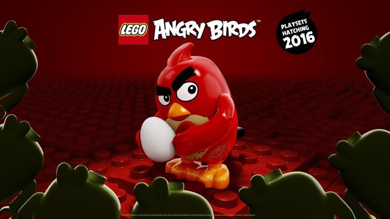 SDCC 2015 LEGO LEGO Ideas Angry Birds Poster