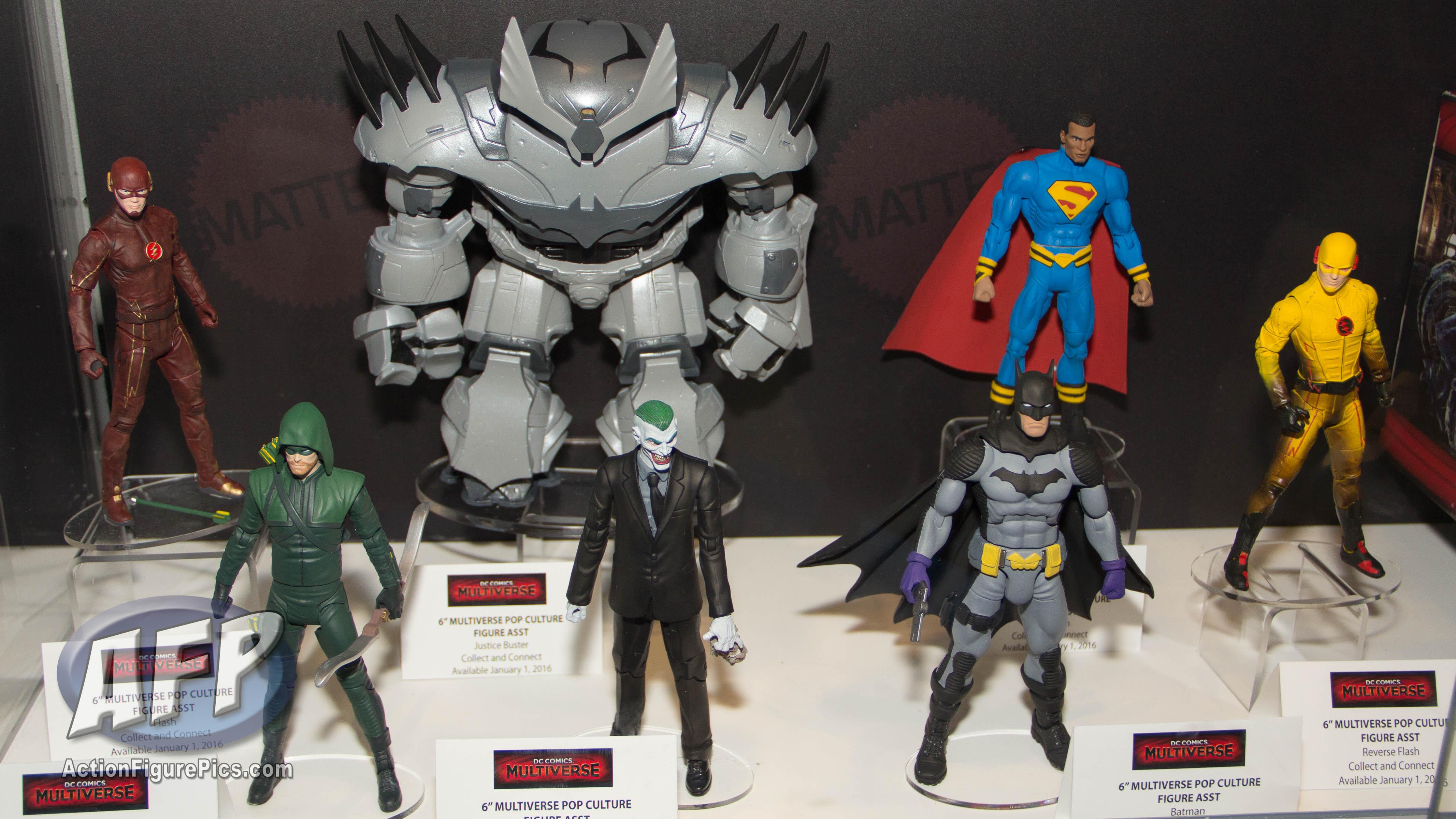 Superman Batman Wonderwoman Steppenwolf Joker Lot Set DC Comics action figures