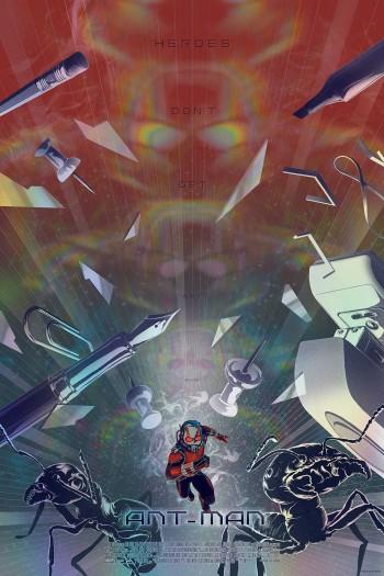 SDCC 2015 Mondo Ant-Man Poster