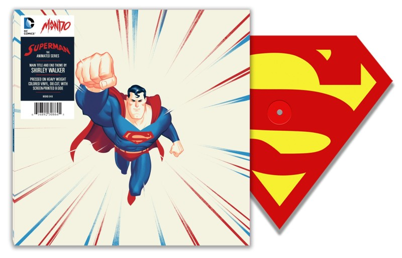 SDCC 2015 Mondo Superman the Animated Series Vinyl