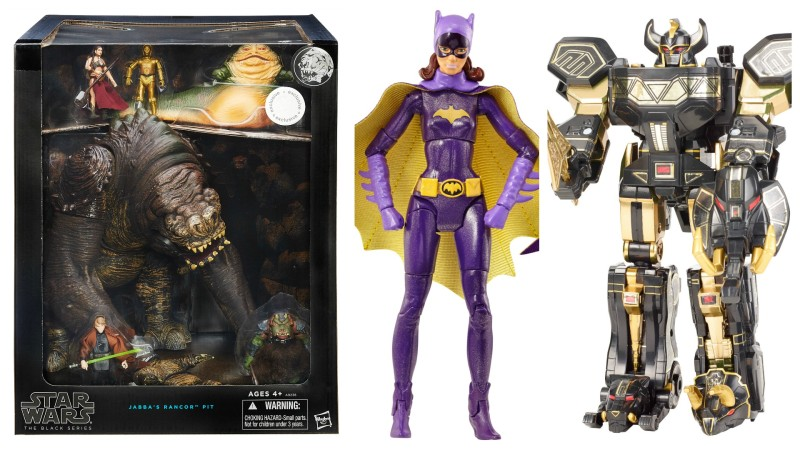 SDCC 2015 Toys R Us Exclusives - Star Wars, Batgirl, and Power Rangers