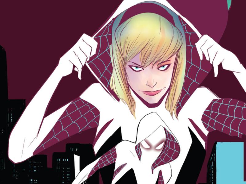 Spider-Gwen unmasked