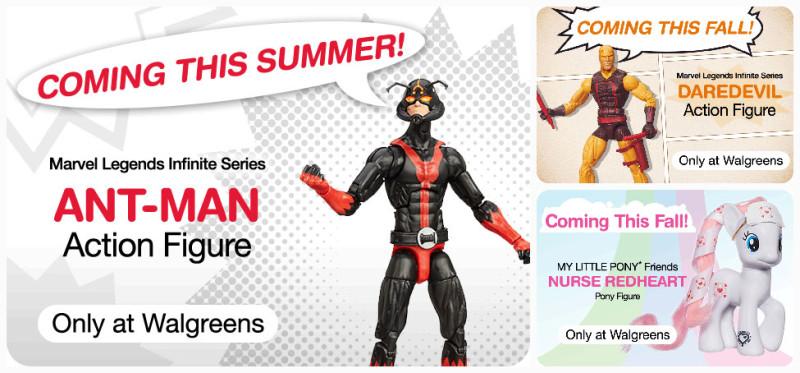 Walgreens Marvel Legends Ant-Man and Daredevil Teaser
