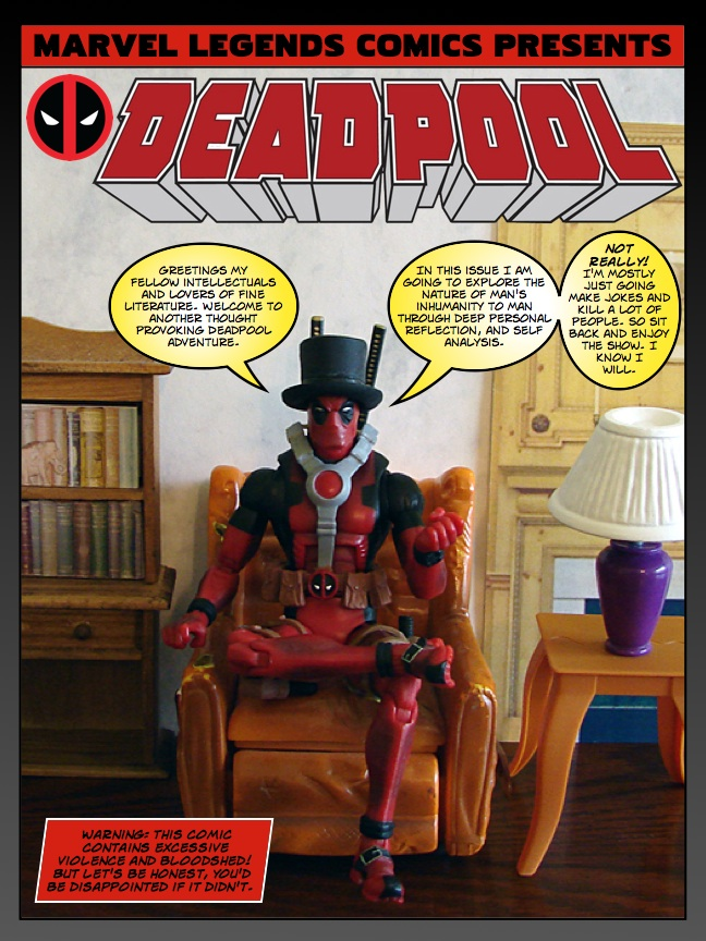 Deadpool - The Motion Picture - page 01