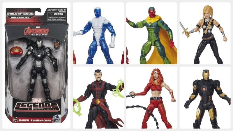 Marvel Legends Hulkbuster Wave at Amazon