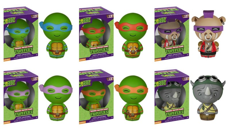Teenage Mutant Ninja Turtles Dorbz by Vinyl Sugar and Funko
