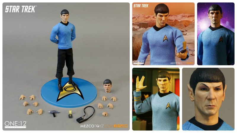 Mezco One 12 Collective Star Trek Spock