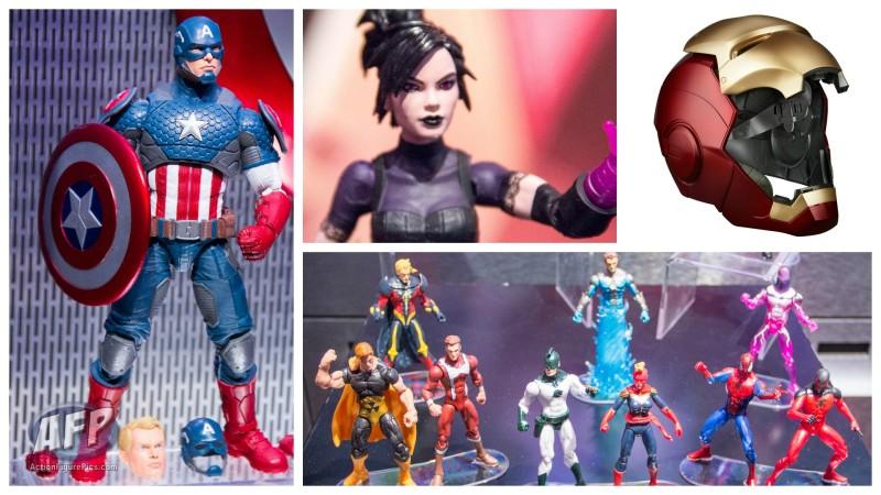 Toy Fair 2016 - Hasbro Marvel Legends Report
