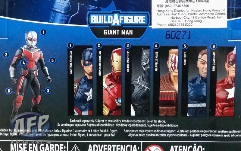 Marvel Legends Captain America Civil War - packaged pics (1 of 17)