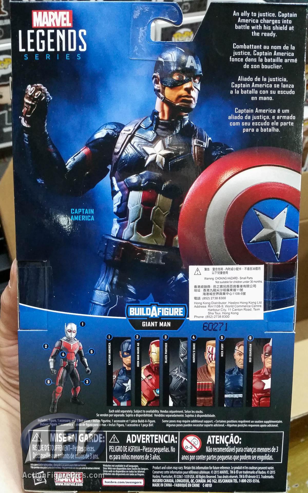 Assez Marvel Legends Captain America Civil War Giant Man Wave - Packaged  CH28