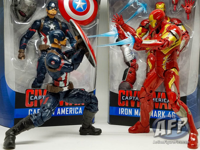 Marvel Legends Civil War - Captain America and Iron Man AFP Free Stuff Giveaway