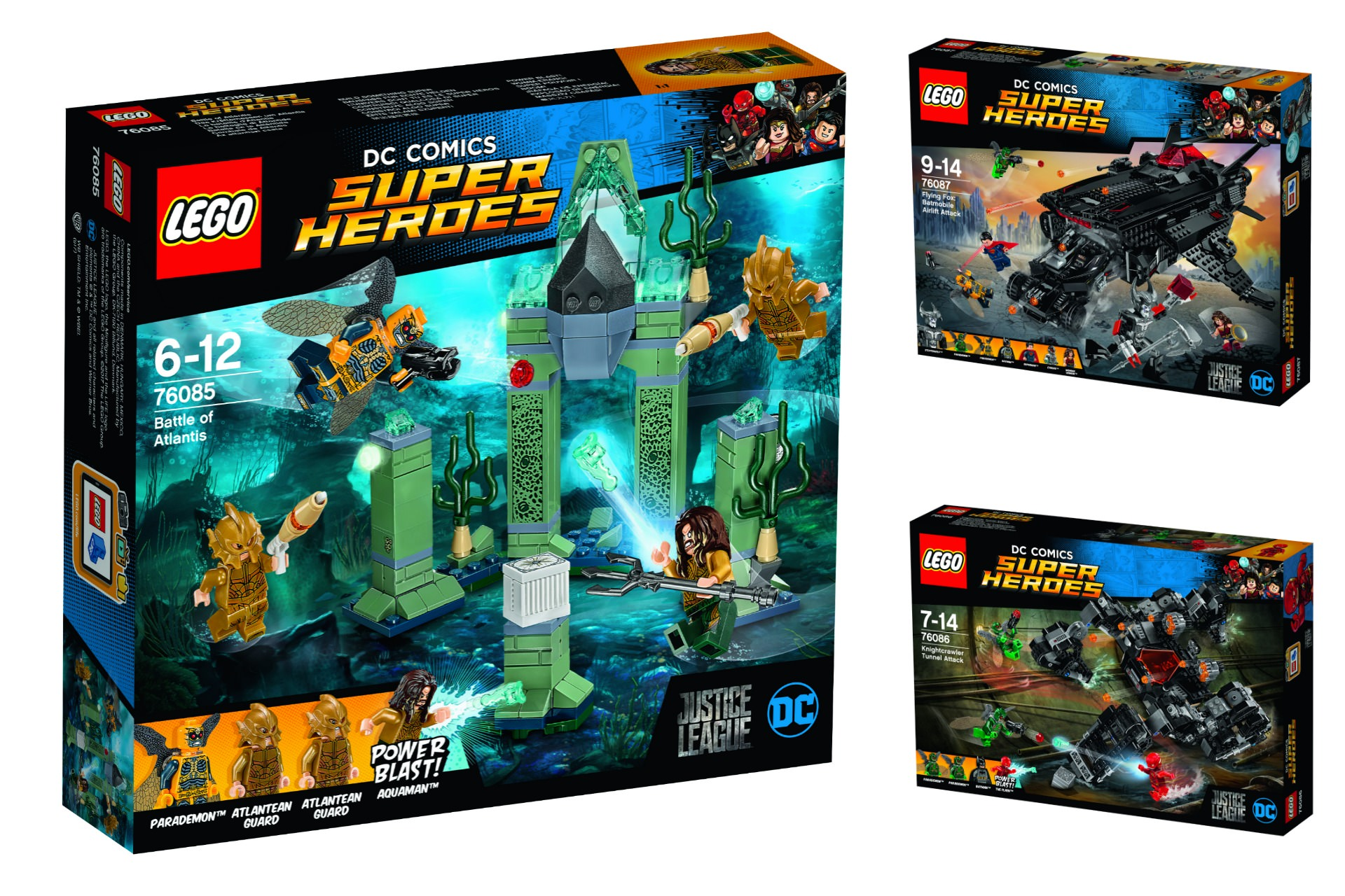 LEGO Unites the League with Justice League Sets Due August ...