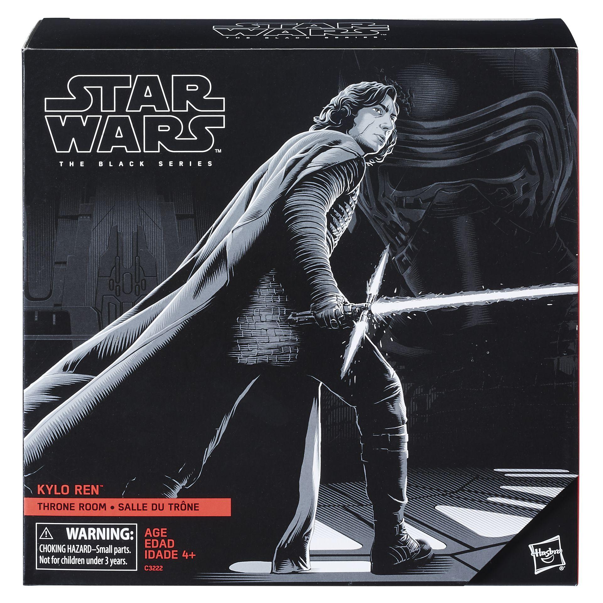 Hasbro Shares Star Wars Black Series Details for Force ...