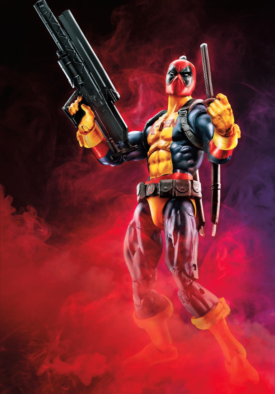 Hasbro teases marvel legends deadpool wave 2 for Deadpool show