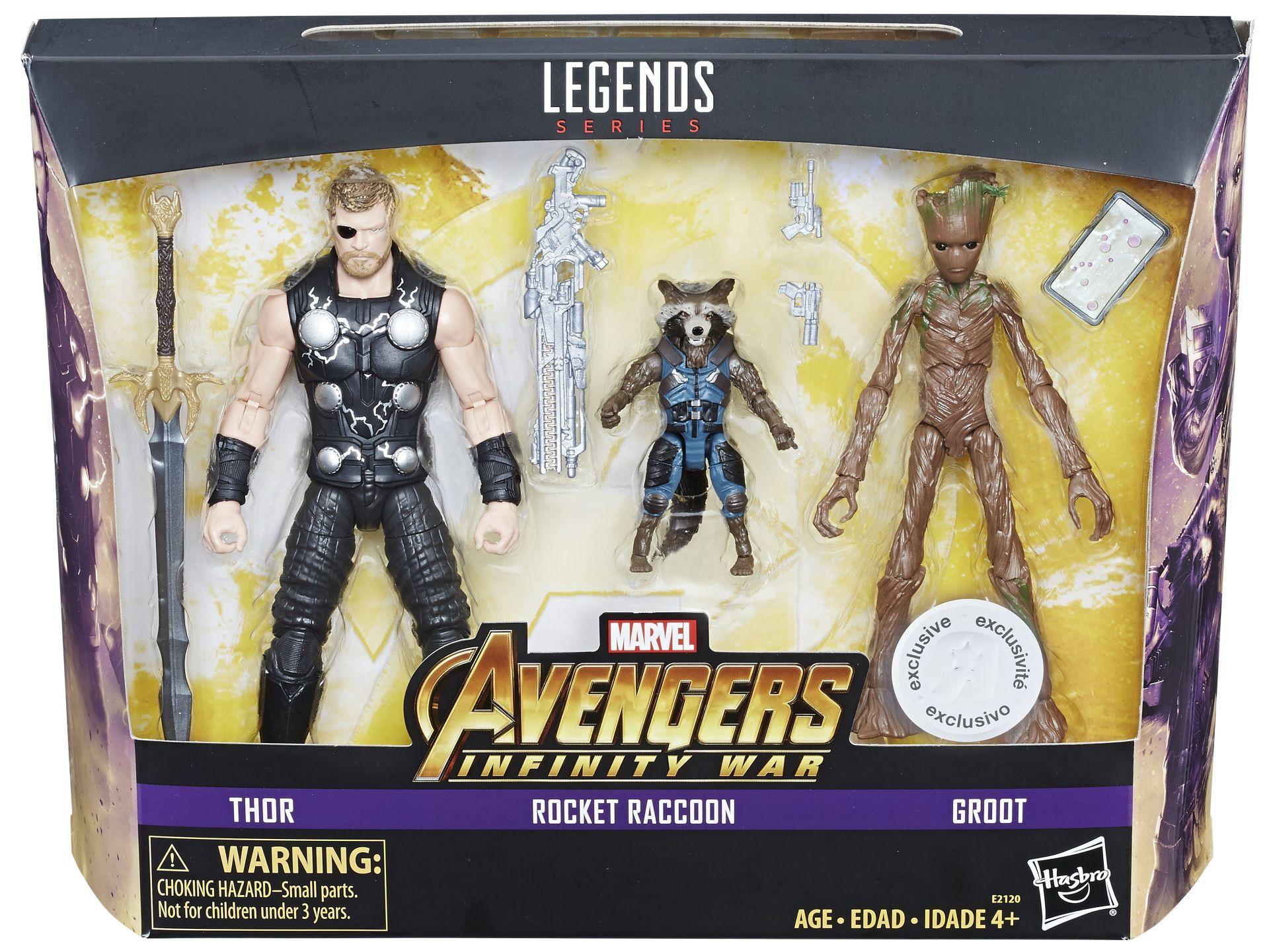Hasbro Reveals Retailer Exclusive Marvel Legends Multi